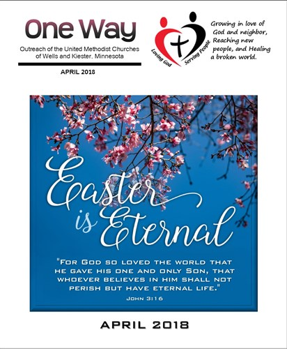 April 2018 OneWay Newsletter